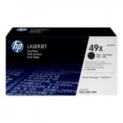 HP MULTIPACK NERO Q5949XD 49X 2 X 6.000 P. ORIGINALE