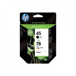 HP MULTIPACK NERO+COLORE SA308AE 45+78 51645AE (HP 45) + C6578DE (HP 78)