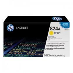 HP TAMBURO GIALLO CB386A 824A 35000 COPIE TAMBURO ORIGINALE
