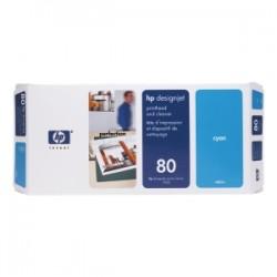 HP TESTINA PER STAMPA CIANO C4821A 80 INCL. DEPURATORE ORIGINALE