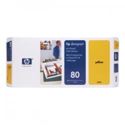 HP TESTINA PER STAMPA GIALLO C4823A 80 INCL. DEPURATORE ORIGINALE