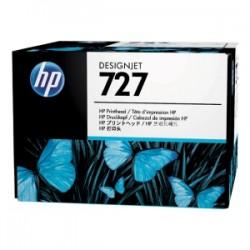 HP TESTINA PER STAMPA NERO / CIANO / MAGENTA / GIALLO B3P06A 727  ORIGINALE