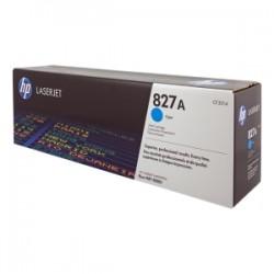HP TONER CIANO CF301A 827A 32000 COPIE  ORIGINALE