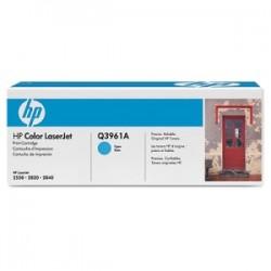 HP TONER CIANO Q3961A 122A 4000 COPIE  ORIGINALE