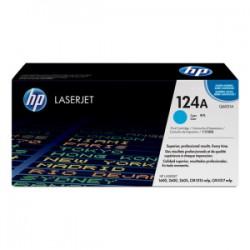 HP TONER CIANO Q6001A 124A 2000 COPIE  ORIGINALE