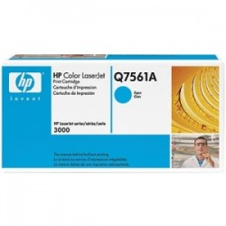 HP TONER CIANO Q7561A 314A 3500 COPIE  ORIGINALE