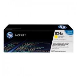 HP TONER GIALLO CB382A 824A 21000 COPIE  ORIGINALE