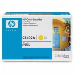 HP TONER GIALLO CB402A 642A 7500 COPIE  ORIGINALE