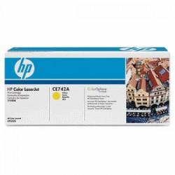 HP TONER GIALLO CE742A 307A 7300 COPIE  ORIGINALE