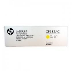 HP TONER GIALLO CF382AC 2700 COPIE ORIGINALE