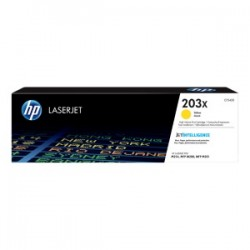 HP TONER GIALLO CF542X 203X 2500 COPIE  ORIGINALE