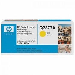 HP TONER GIALLO Q2672A 309A 4000 COPIE  ORIGINALE
