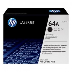 HP TONER NERO CC364A 64A 10000 COPIE  ORIGINALE