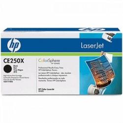 HP TONER NERO CE250X 504X 10500 COPIE  ORIGINALE