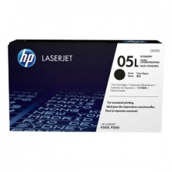 HP TONER NERO CE505L 05L ~1000 COPIE ECONOMY