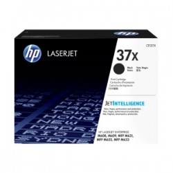 HP TONER NERO CF237X 37X 25000 COPIE  ORIGINALE