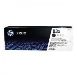 HP TONER NERO CF283X 83X 2200 COPIE  ORIGINALE