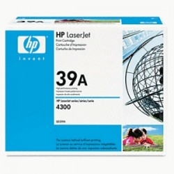 HP TONER NERO Q1339A 39A ~18000 COPIE