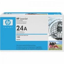 HP TONER NERO Q2624A 24A ~2500 COPIE