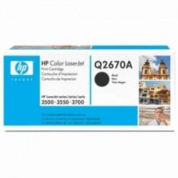 HP TONER NERO Q2670A 308A 6000 COPIE  ORIGINALE