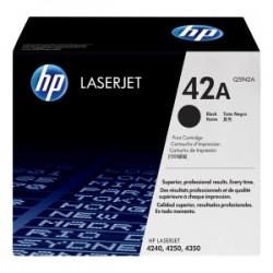 HP TONER NERO Q5942A 42A 10000 COPIE  ORIGINALE