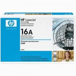 HP TONER NERO Q7516A 16A 12000 COPIE  ORIGINALE