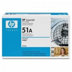 HP TONER NERO Q7551A 51A 6500 COPIE  ORIGINALE
