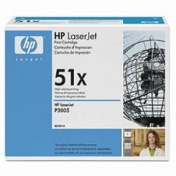 HP TONER NERO Q7551X 51X 13000 COPIE  ORIGINALE