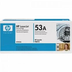 HP TONER NERO Q7553A 53A 3000 COPIE  ORIGINALE