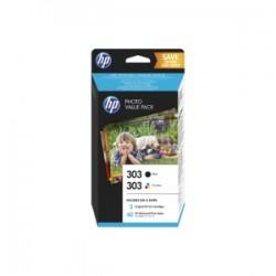 HP VALUE PACK NERO / DIFFERENTI COLORI Z4B62EE 303  ORIGINALE