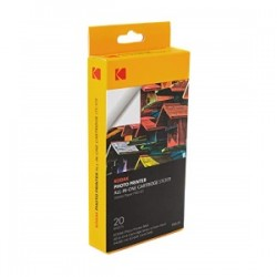 KODAK CARTA BIANCO KPMS-20 ALL-IN-ONE STICKER PAPER CARTRIDGE