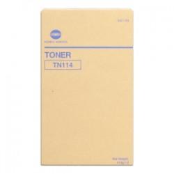 KONICA MINOLTA TONER NERO 8937-784 106B/TN114 22000 COPIE 2X413G ORIGINALE