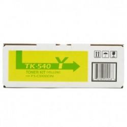 KYOCERA TONER GIALLO TK-540Y 1T02HLAEU0 4000 COPIE  ORIGINALE