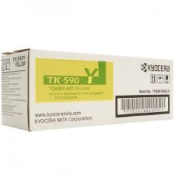 KYOCERA TONER GIALLO TK-590Y 1T02KVANL0 5000 COPIE  ORIGINALE