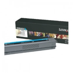 LEXMARK TONER CIANO X925H2CG X925 7500 COPIE CARTUCCIA DI STAMPA REGOLARE ORIGINALE