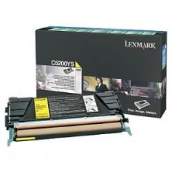 LEXMARK TONER GIALLO C5200YS  ~1500 COPIE RESTITUZIONE- CARTUCCIA DI TONER