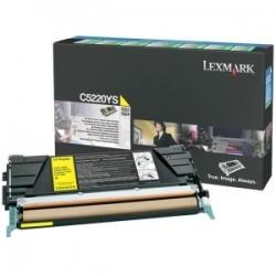 LEXMARK TONER GIALLO C5220YS  ~3000 COPIE RESTITUZIONE- CARTUCCIA DI TONER