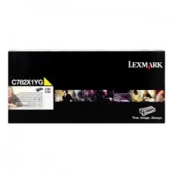 LEXMARK TONER GIALLO C782X1YG  ~15000 COPIE