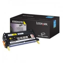 LEXMARK TONER GIALLO X560H2YG  10000 COPIE  ORIGINALE