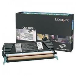 LEXMARK TONER NERO C5200KS  ~1500 RESTITUZIONE- CARTUCCIA DI TONER