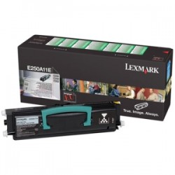 LEXMARK TONER NERO E250A11E  3500 COPIE  ORIGINALE
