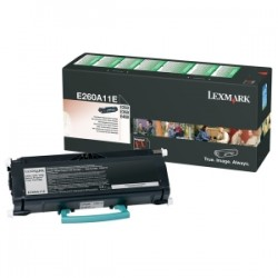 LEXMARK TONER NERO E260A11E  3500 COPIE  ORIGINALE