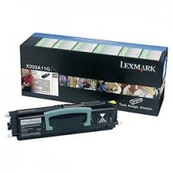 LEXMARK TONER NERO X203A11G  2500 COPIE  ORIGINALE