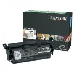 LEXMARK TONER NERO X651H11E  25000 COPIE UNITÀ DI STAMPA, COMBINATO TAMBURO/CARTUCCIA, CASSETTA DI RITORNO, ALTA CAPACIT