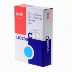 OCE CARTUCCIA D\'INCHIOSTRO CIANO 29952266 IJC236-C 130ML  ORIGINALE