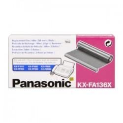 PANASONIC NASTRO A TRASFERIMENTO TERMICO  KX-FA136X  NASTRO TRASFERIMENTO TERMICO ORIGINALE