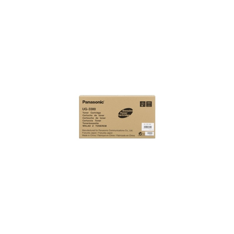 PANASONIC TONER NERO UG-3380  8000  ORIGINALE