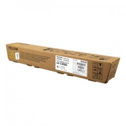 RICOH TONER GIALLO 842035 884931/MP C4500 17000 COPIE ORIGINALE