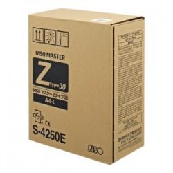 RISO NASTRO A TRASFERIMENTO TERMICO  S-4250  MASTER A4, Z-TYP 30, VE2 ORIGINALE