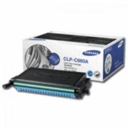 SAMSUNG TONER CIANO CLP-C660A ST880A 2000 COPIE STANDARD ORIGINALE